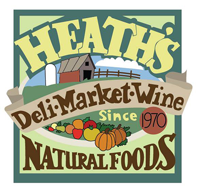 Heath's Natural Foods Logo