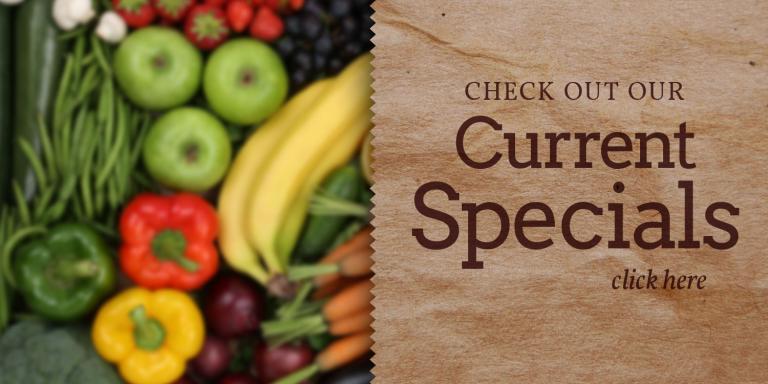 Heath's Natural Foods Current Specials